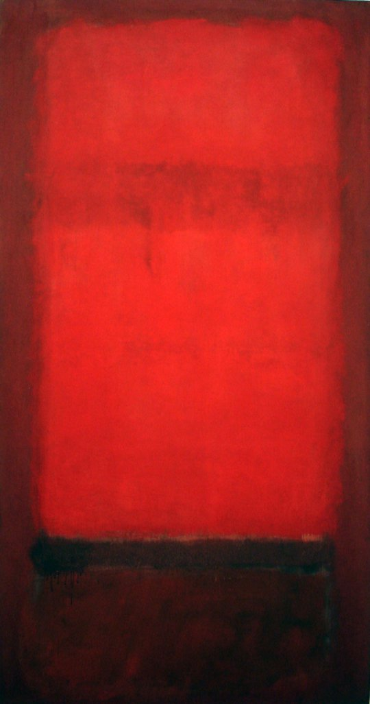 Light red over dark red (Rojo claro sobre rojo oscuro)