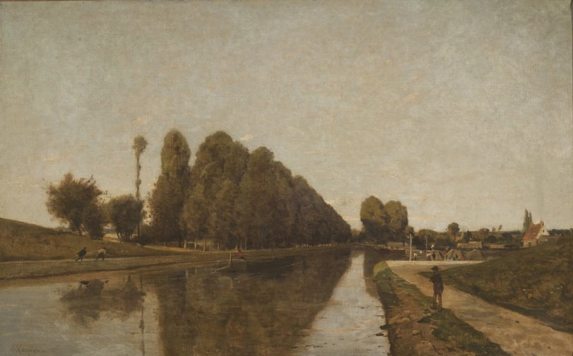 The Briare Canal (Loire)