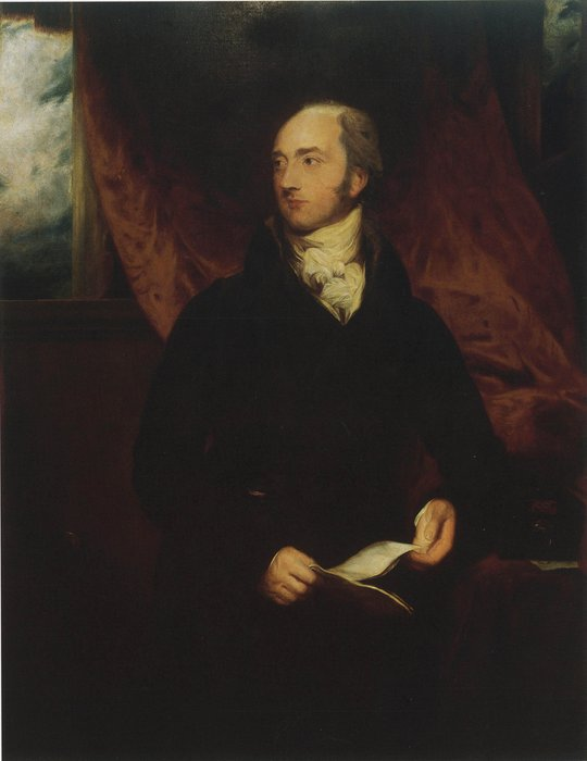 Retrato de George Canning