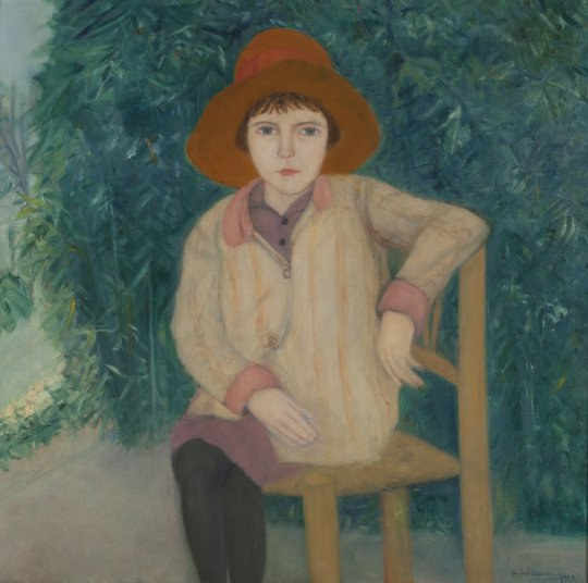 La niña sentada (The girl sitting)